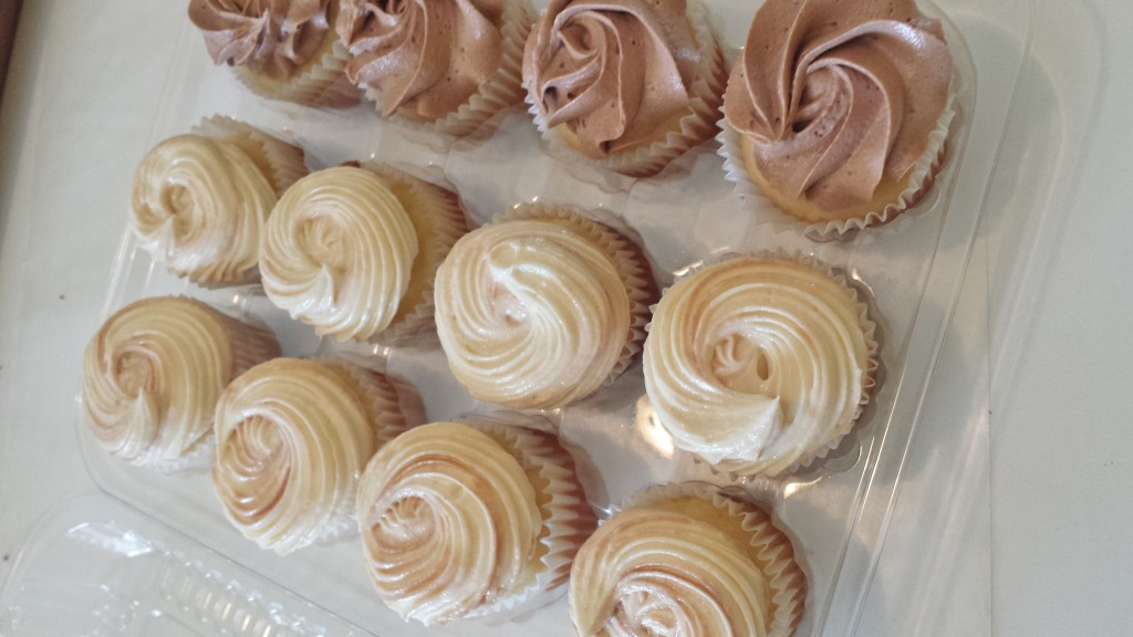 When it comes to frosting, a swirl is a swirl is a swirl.