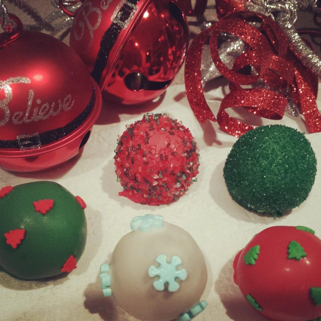 Tasty, festive, sweet balls