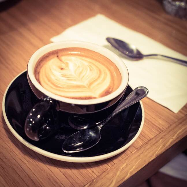 Spiegel - cappuccino